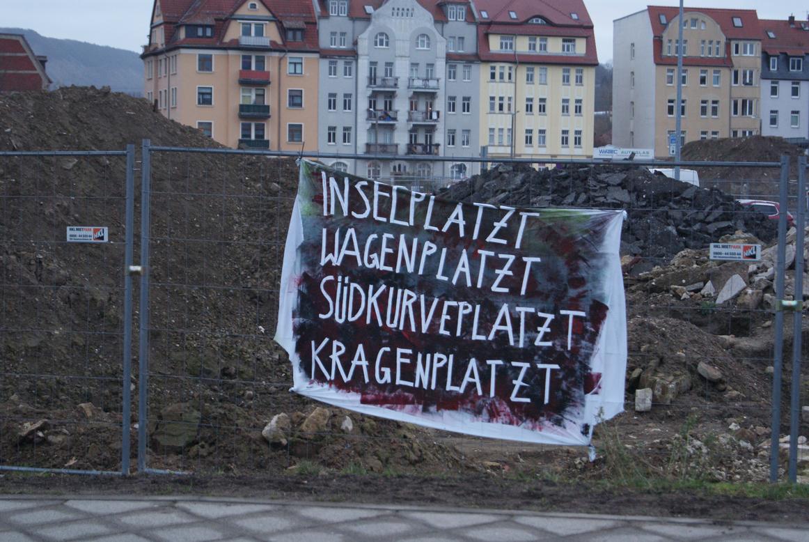 Bunter Protest der Rad(A)ue – ein Jahr nach der Vertreibung