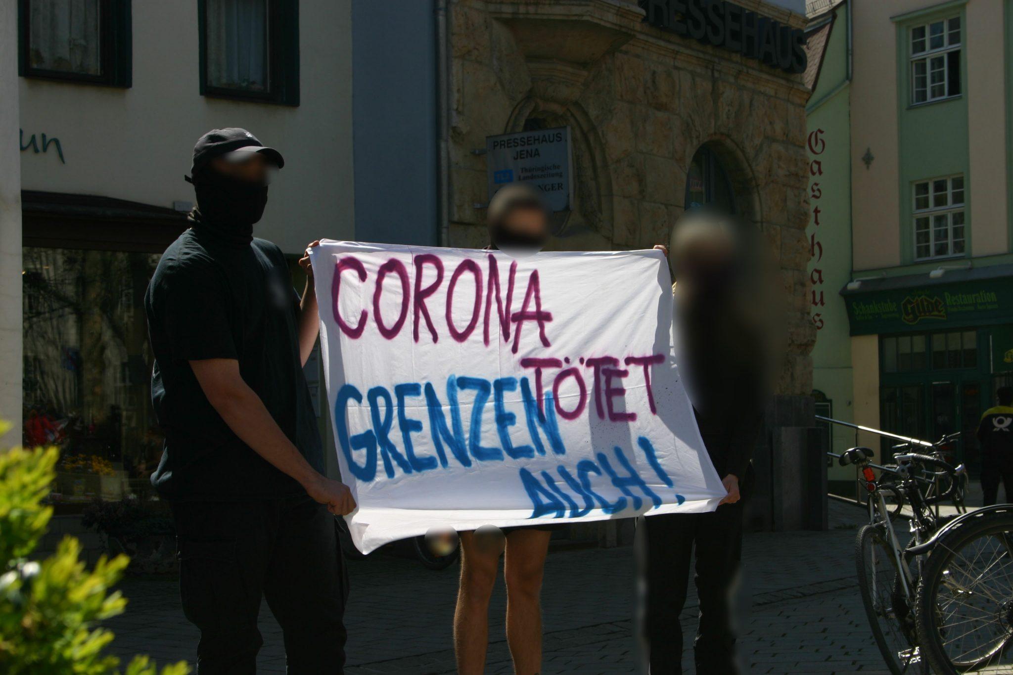 """Am Donnerstag erste zugelassene Demonstration in Thüringen: """"Corona kann keine Ausrede für Tatenlosigkeit sein!"""""""