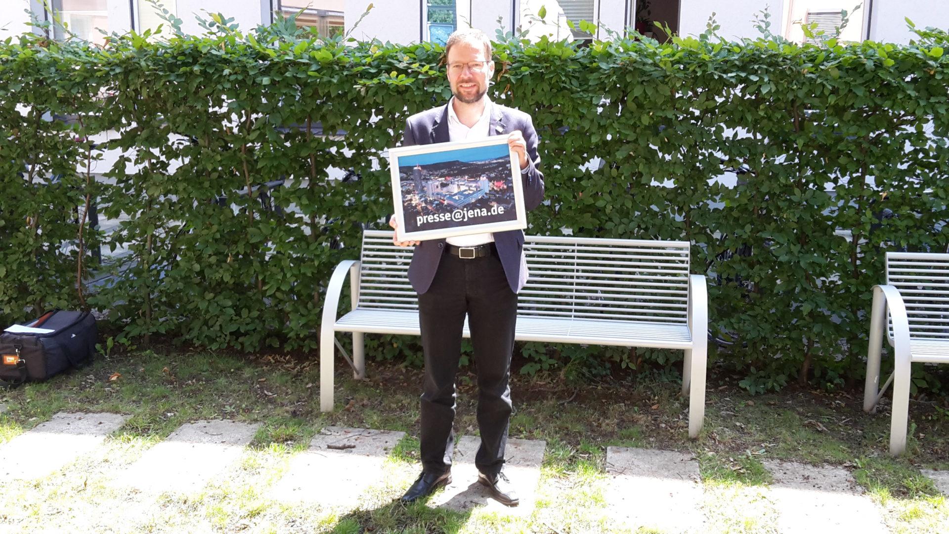 OB Nitzsche startet Foto-Aktion zur Unterstützung der Kulturbranche