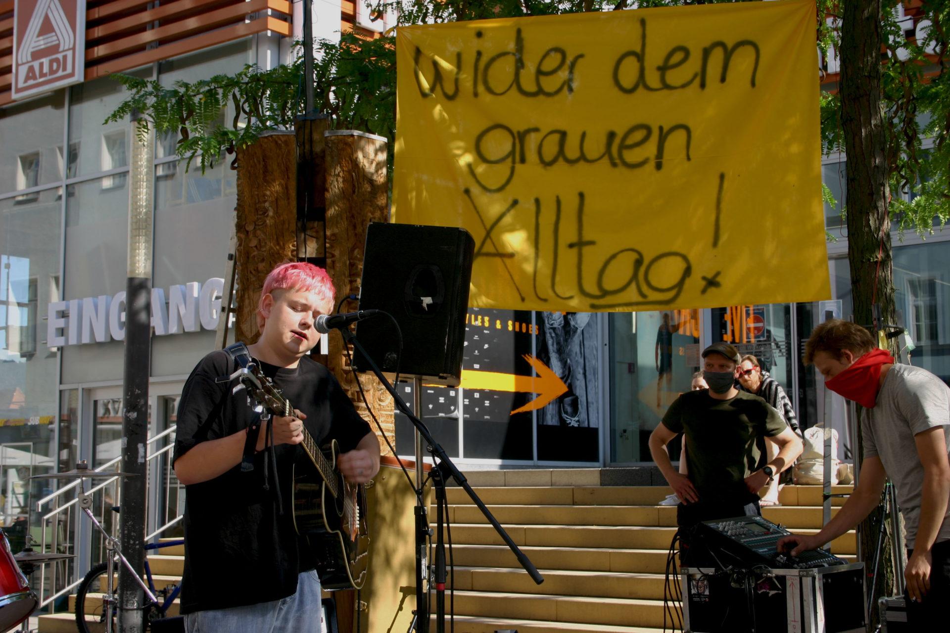 """Buntgebung"" der JG-Stadtmitte thematisiert Jugendarbeit in der Coronazeit"