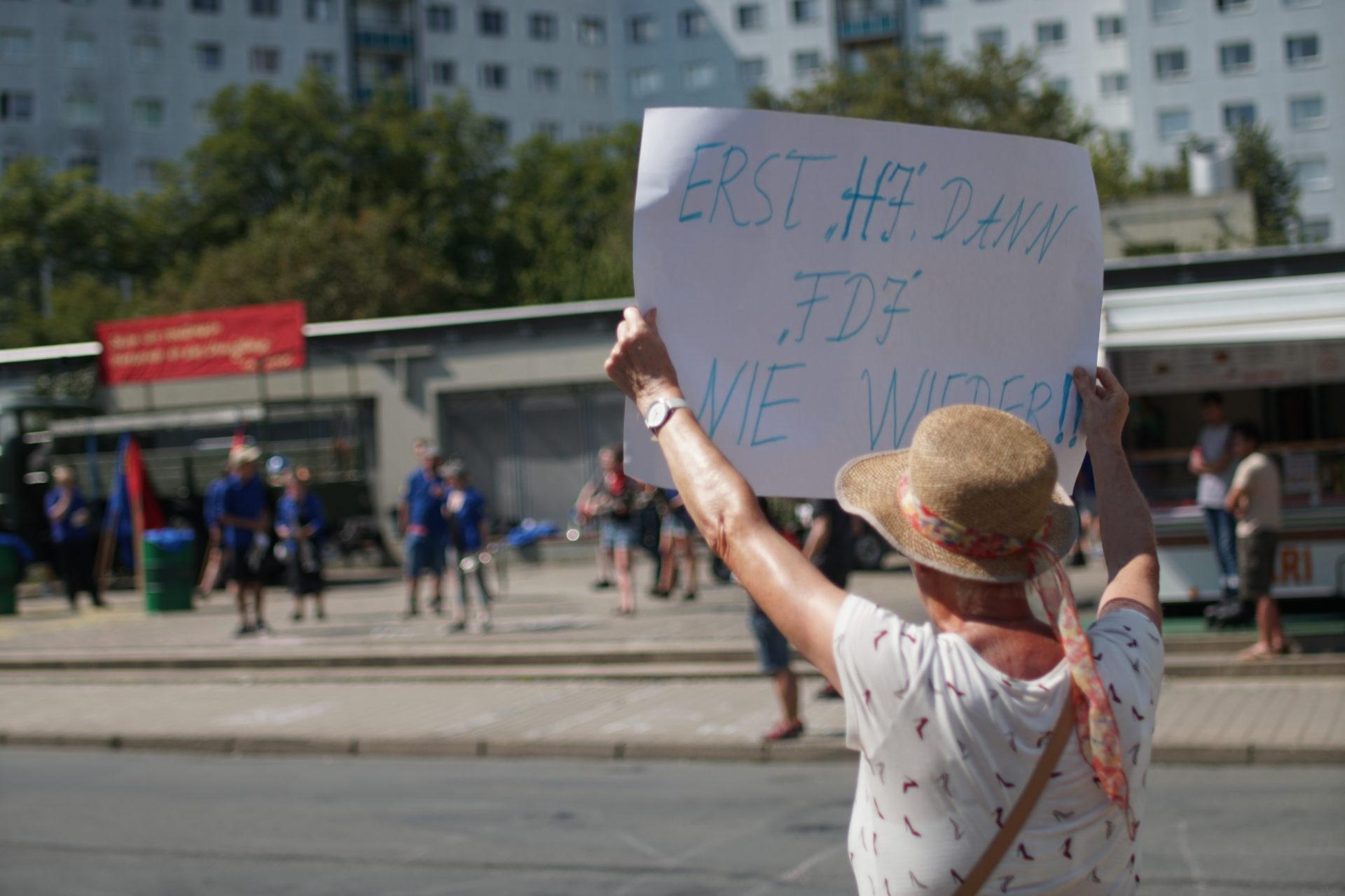 Schwitzen für die Revolution: FDJ in Jena