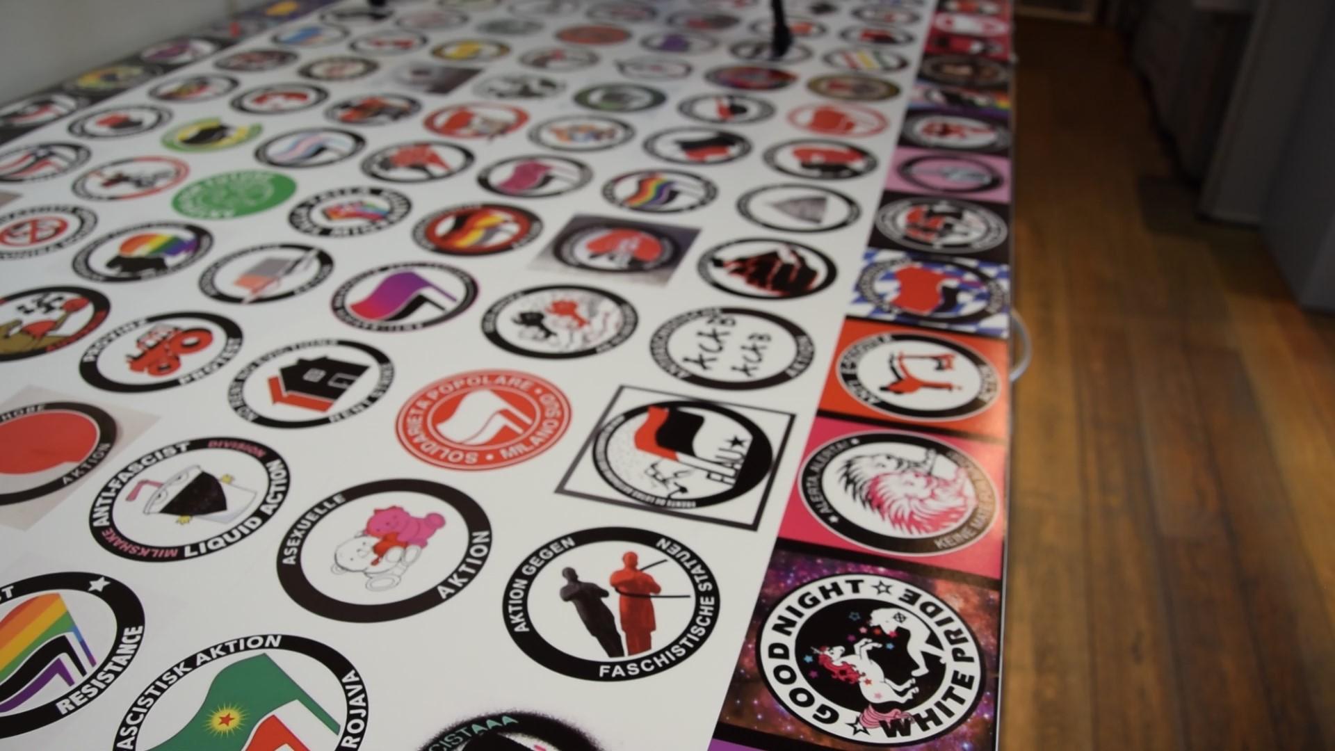 Ausstellung: Antifa – Mythos & Wahrheit des Peng! Kollektives in Chemnitz