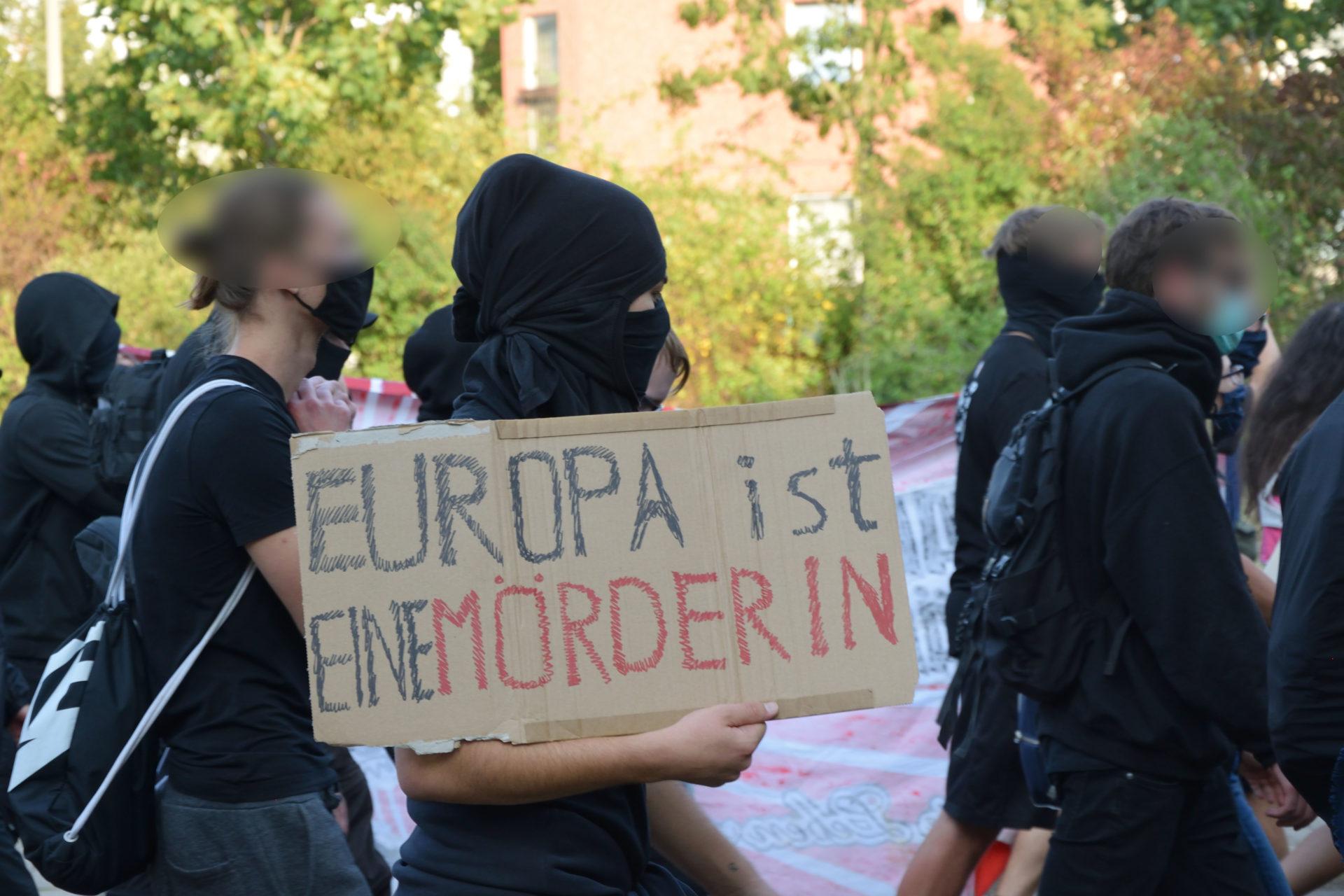 Antiautoritäre Demonstration in Leipzig: Solidarität mit Hongkong und Kritik an der Grenzpolitik der EU