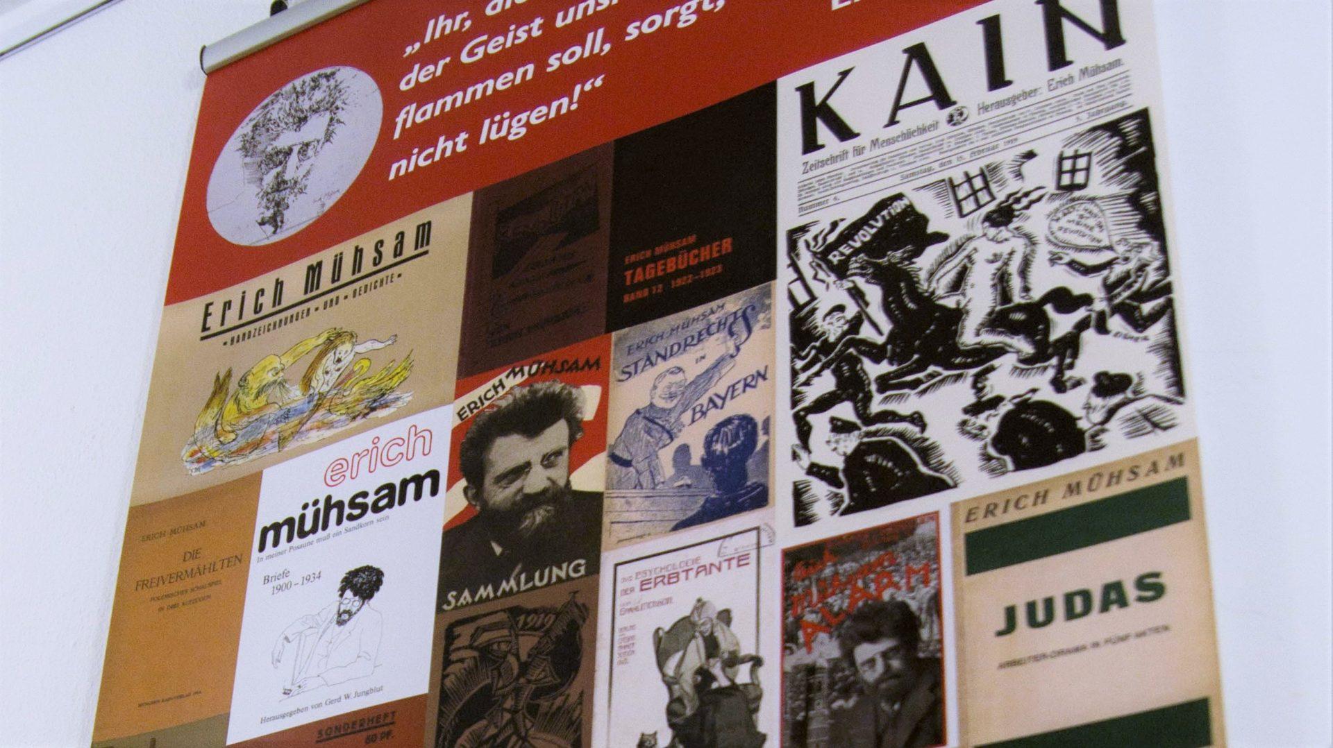Anarchismus in Thüringen: Ausstellungsbesuch im Erfurter Naturfreundehaus