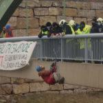 #BlockFriday: Für Klima- und Umweltschutz wurden bundesweit Autobahnen blockiert