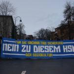 Bilder:  Das Bündnis solidarische Stadt demonstriert mit 500 Menschen gegen das Haushaltssicherungskonzept