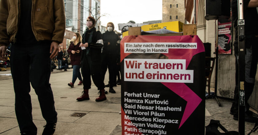 Hanau-Attentat: Erinnern heißt Kämpfen