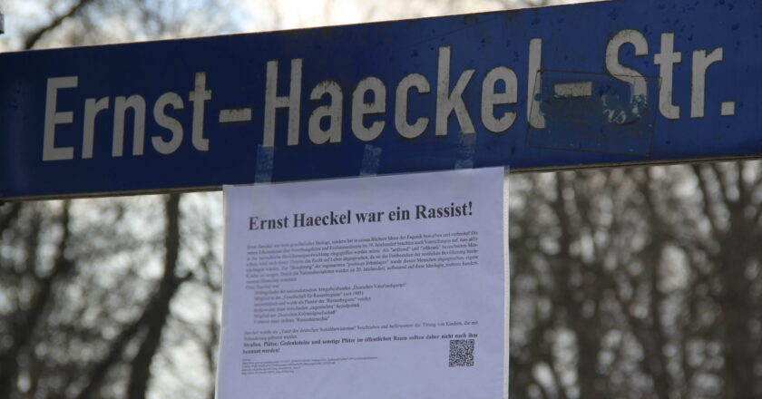 Grüne Jugend Jena fordert Umbenennung von Ernst-Haeckel-Objekten