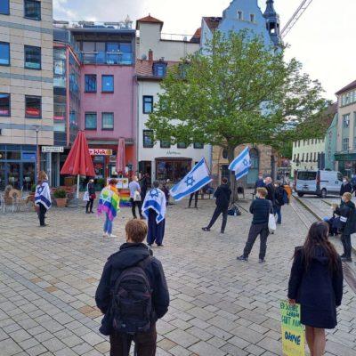 Israel-solidarische Kundgebung in Jena: Muslim*innen unter Generalverdacht des Antisemitismus?
