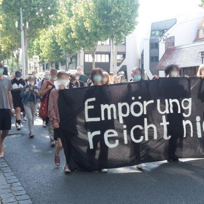 """""""Empörung reicht nicht"""": Demonstration für ein antirassistisches Thüringen"""