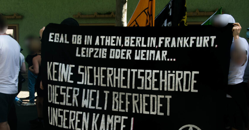 """Video: """"Schluss mit den Repressionen"""" – Demonstration am 3.7.2021 in Jena"""