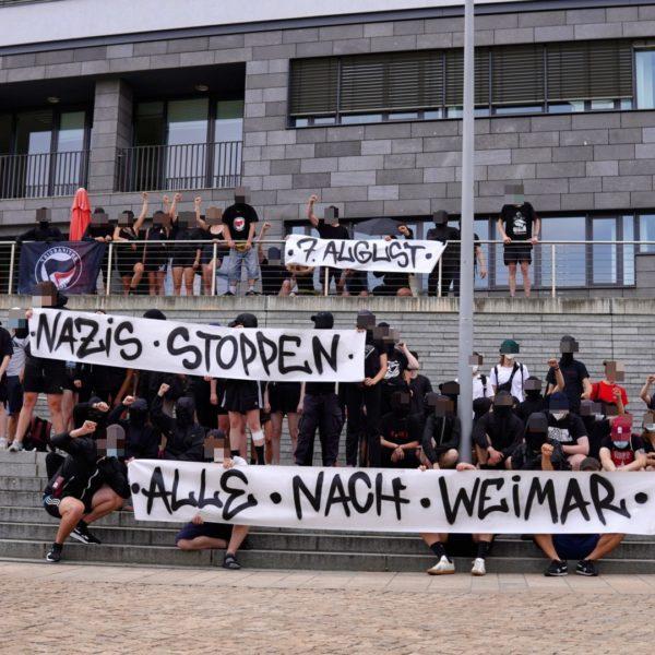 """Rechtsradikale Demonstration am Samstag in Weimar:  """"Gemeinsam für Frieden, Freiheit und Souveränität"""""""